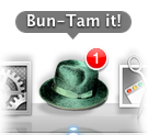 Bun-Tam it! dock icon badge